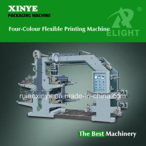 Four-Color Plastic Film Printing Machine pictures & photos