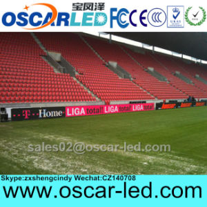 P8 P10 P16 P20 Outdoor LED Perimeter Display for Football, Soccer Stadium Advertising