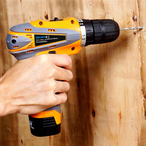16.8V Household Double Speed Cordless Drill Rechargeable Electric Screwdriver Lithium Battery Power Tools Plastic Box