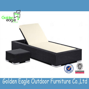 Porpular Rattan Sun Lounger Furniture with Modern Design pictures & photos