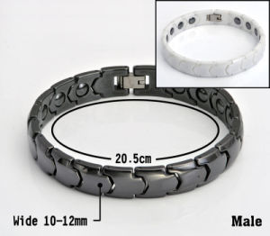 Best Gifts Lady Energy Ceramic Jewelry with Hematite Health Stone pictures & photos