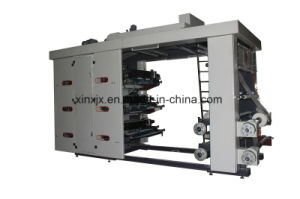 High Top Quality 6 Color Flexographic Printing Machine Made in China Best Factory pictures & photos