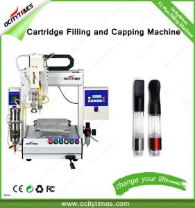 Automatic Cbd Oil Filling Machine for 510 Cartridge with Capping Function pictures & photos