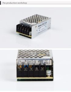 HSC-15 Single Output Power Supply 15W 12VDC 1.3A pictures & photos