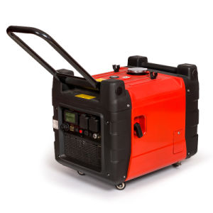 3600 kVA 3.6kw Portable Digital Inverter Gasoline Generator with Key Starter Home Use