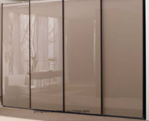 Tempered Color Painted Glass for Wardrobe Door pictures & photos