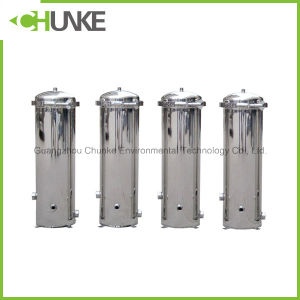 Ss304 Cartridge Filter Housing for Reverse Osmosis/Security Filter pictures & photos