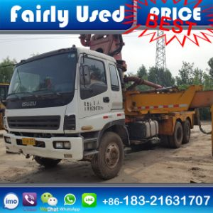 Low Price Used 42m Sany Pump Truck with Isuzu Chassis