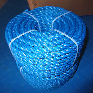 PP Film Rope PE Nylon Rope UHMWPE Rope Sisal Rope pictures & photos