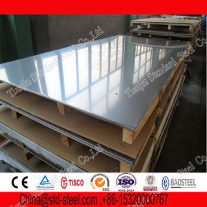 Mirrorized Ss 316 316L Stainless Steel Plate No. 4) pictures & photos