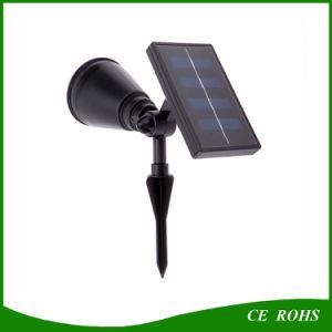 4 LED Solar Lawn Solar Garden Lamp Spot Light Outdoor Lawn Landscape Spotlight pictures & photos