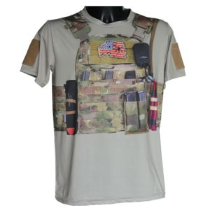 Fashion Tactical Outdoor Sports T-Shirt Military Kryptek Camo T-Shirt New Style pictures & photos