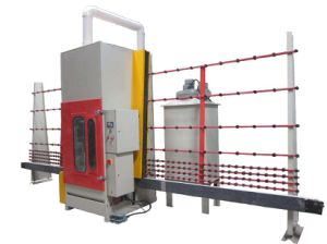 Glass Automatic Sandblasting Machine for Sanding Glass 1.5m pictures & photos