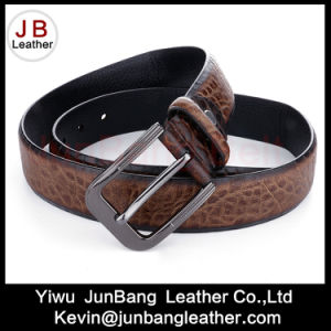 2017 Fashion Smart Leather Belt for Men Pin Buckle pictures & photos