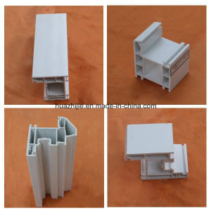 Plastic Window Frame PVC Profiles for Window and Door pictures & photos