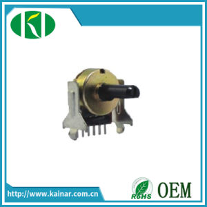 Jiangsu 17mm 6 Pin Rotary Potentiometer with Plastic Bushing Wh0172-3b-2j pictures & photos