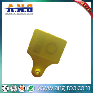 860-960MHz Barcode Laser Printing RFID Livestock Ear Tags pictures & photos