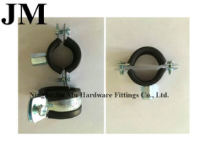 Convenient Installation Rubber Pipe Clamp 1- 1/2 Inch pictures & photos