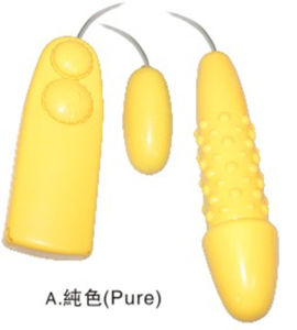 Vibrator Big Double Love Eggs Sex Product for Ladies pictures & photos