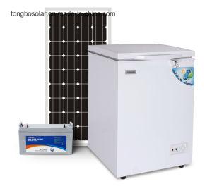 DC 12V 24V Solar Freezer Commercial Chest Freezer 93L pictures & photos
