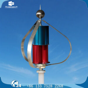 300W 12V/24V Maglev Generator Vertical Wind Turbine Alternator Home Use pictures & photos
