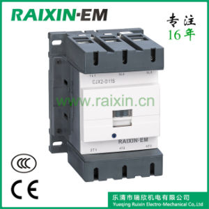 Raixin New Type Cjx2-D115 AC Contactor 3p AC-3 380V 55kw pictures & photos