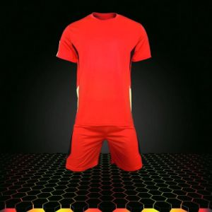 Red Soccer Uniform Jersey and Short pictures & photos