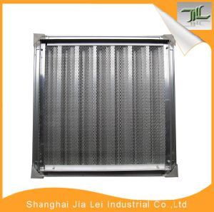 Aluminum Return Single Deflection Grille Air Diffuser for Ventilation