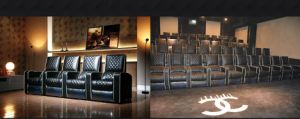 VIP Theatre Recliner Sofa Home Cinema Chair with USB Charge Movie Chair Leather Sofa pictures & photos