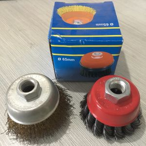 Professional Twisted Steel Wire Cup Brush pictures & photos