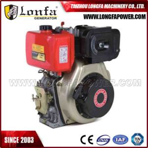 4 Stroke Air Cooled 4-10HP Small Diesel Engine (Horizontal) pictures & photos