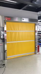 Industrial Motorized Quick Speed Fabric Rolling Door, High Speed Fabric Rolling Door pictures & photos