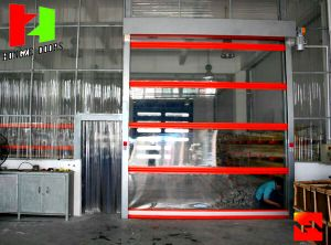 Fast Moving High Speed PVC Roll up Doors, Fast PVC Roll up Doors in Shenzhen pictures & photos