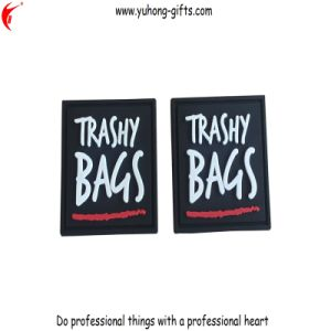 PVC Rubber Label Patch for Bags (YH-L051) pictures & photos