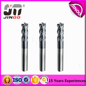 2/4 Flute Solid Carbide Flat Square Milling Cutting End Mill pictures & photos