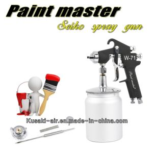 Paint Tool W-71 Paint Spray Gun Furniture Wood Automotive Paint Spray Gun Pneumatic High Atomized Paint Lvmp Spray Gun