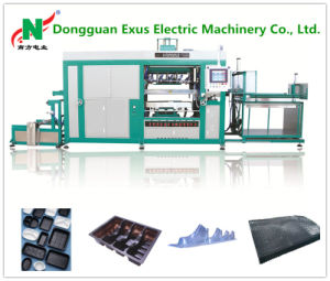 High Speed PLC Control Blister Vacuum Forming Machine for Plate, Tray, Dish, Nursery Tray and Other Plastic Container pictures & photos