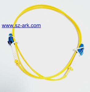 Fiber Optical Cable with Mini LC Fiber Connectors pictures & photos