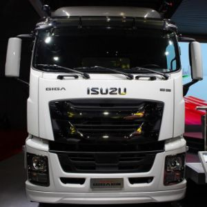 Global Release Isuzu Giga 4X2 Van Truck pictures & photos