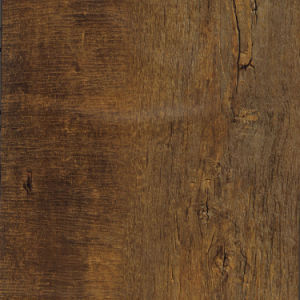 Certified 100% Virgin Gray Imitation Wood Vinyl Click Floor pictures & photos