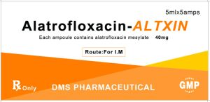 Alatrofloxacin Mesylate 40mg/5ml GMP Factory pictures & photos
