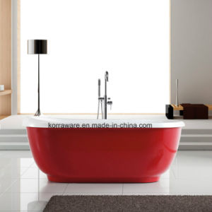 (K1527B) Freestanding Acrylic Bathtubs / Massage Whirlpool Bathtubs pictures & photos