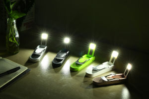 Portable Mini Power Bank 3000mAh with LED Lamp pictures & photos