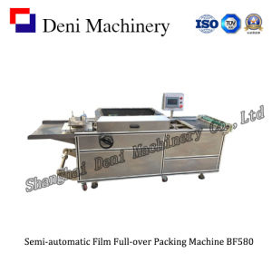 Semi-Automatic Film Full-Over Packing Machine (BF580) pictures & photos