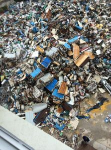Psx-1200 Scrap Steel Shredder Machine pictures & photos