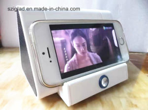 Radiationless! Induction Touch Sensor Wireless Porttable Triangle Shape Mobile Speaker pictures & photos