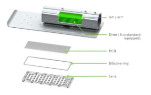 High Quality Factory Price 110lm/W Outdoor IP65 Waterproof 24V 12V 36V Solar LED Street Light 60W pictures & photos