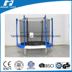 Cheap Big Colourful Trampoline with Enclosure pictures & photos