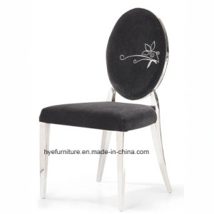 Modern Fabric Dining Furniture Metal Dining Chair pictures & photos