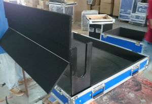 Mixer Rack Case with Fixed Laptop